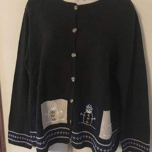 Adorable button up cardigan Christopher banks